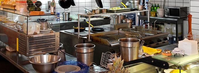 Prostriedky kuchynskej hygieny - HoReCa