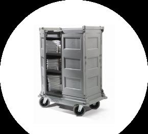 Numatic NKT 20 HF / FF, hotelový vozík pre chyžné