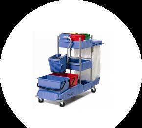 Numatic VCN 1604 BK2, dezinfekčný vozík