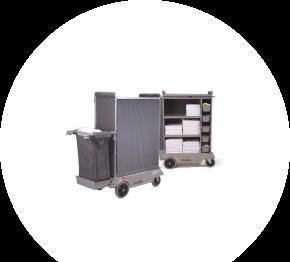 Numatic SKAT 21, hotelový vozík pre chyžné