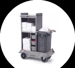 Numatic SKAT 11, hotelový vozík pre chyžné