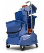 Numatic TM 2815W, dvojvedrový mopovací vozík s košom